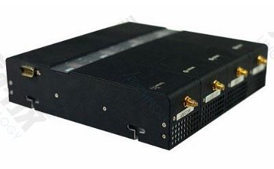 SMI3600模块化手机信号屏蔽器组合后的效果