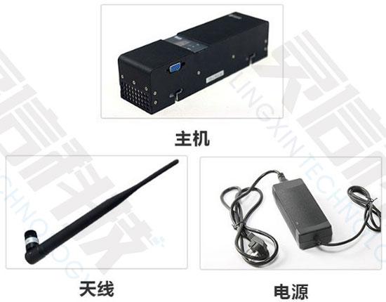 SMI3600模块化手机信号屏蔽器主要部件