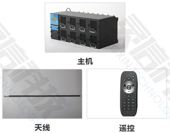 SHO0843S大功率手机信号屏蔽器主要部件