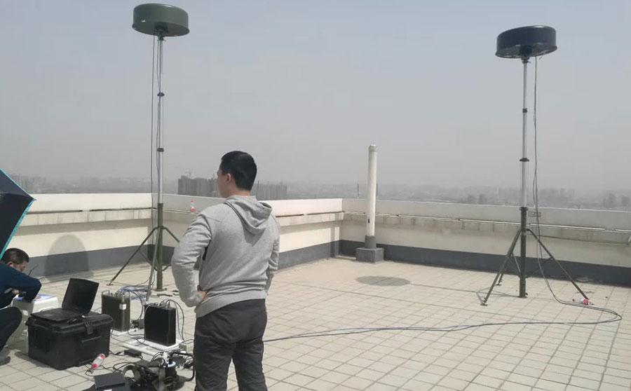 灵信科技无人机侦测设备现场测试
